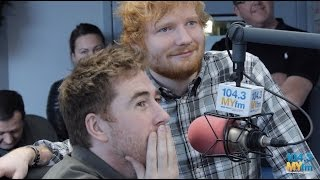 Ed Sheeran Surprises Jamie Lawson at 104.3 MY FM