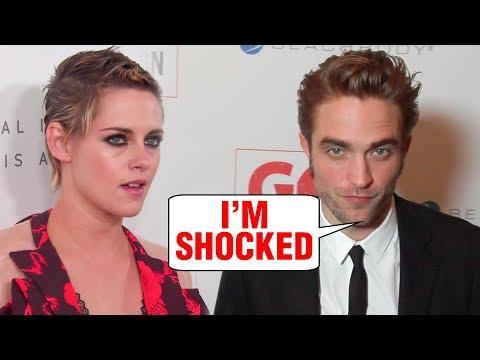 Robert Pattinson SHOCKED About Kristen Stewart New Girlfriend