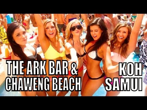 ARK BAR & CHAWENG BEACH KOH SAMUI THAILAND