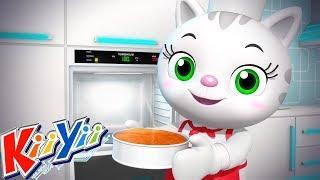 детские песни | Испеки пирог + Еще! | KiiYii | мультфильмы для детей