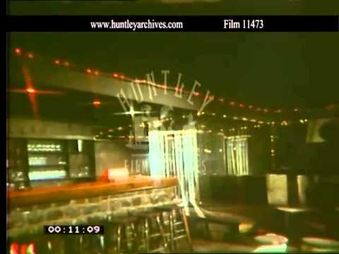 Belgian nightclub.  Archive film 11473
