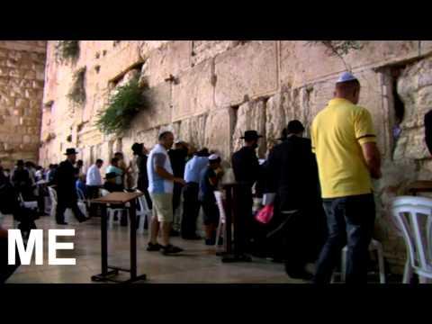 Amazing video of Jerusalem, Western Wall