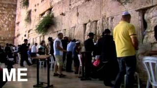Amazing video of Jerusalem, Western Wall