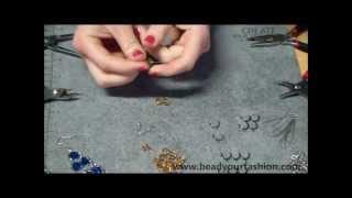 Schmuck herstellen - DIY Projekt 9: Hängende Ohrringe herstellen Thumbnail