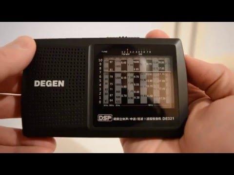 Распаковка Degen DE-321. (Unboxing).