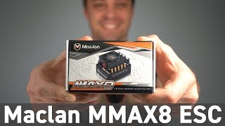 What's New: Maclan MMAX8 200A 1/8 Competition Brushless ESC