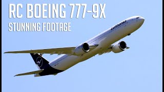 Amazing flights of my 777-9X, great landings and stunning onboard footage