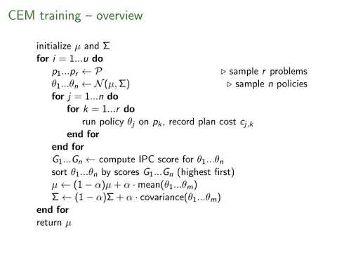 """ICAPS 2020: Gomoluch et al. on """"Learning Neural Search Policies ..."""