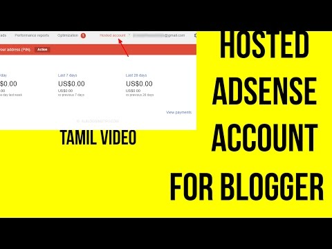 How to use YouTube Hosted account for blogger| Tamil video