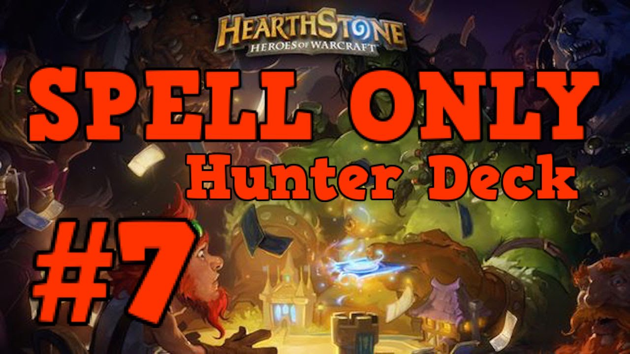 how to make a good hunter deck in hearthstone