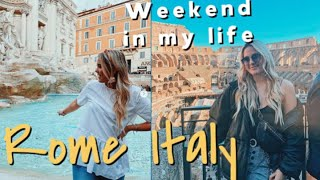 College Weekend In My Life! Rome, Italy~ STUDY ABROAD Vlog 2020