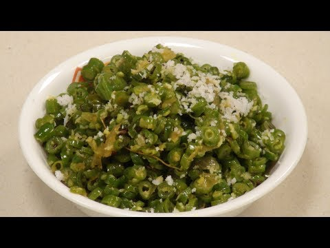 French Bean Sabzi   Simple Indian Cooking   Sanjeev Kapoor Khazana