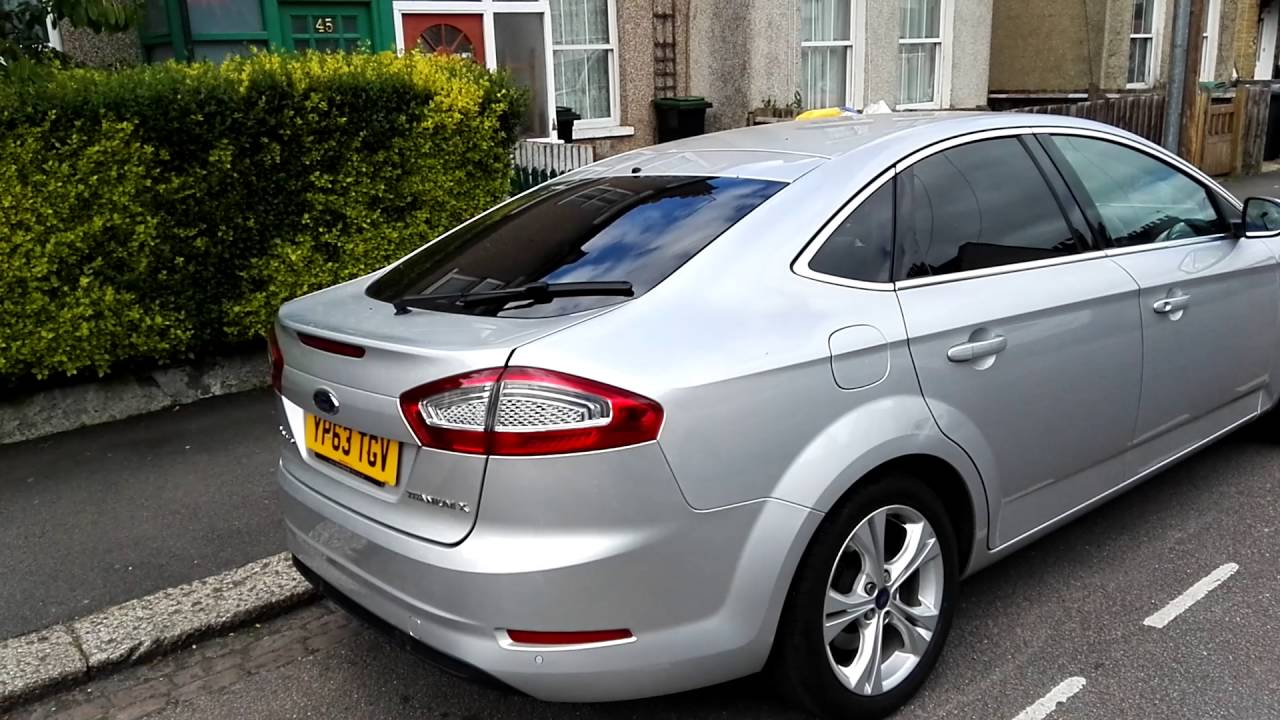 ford mondeo mk4 automatic boot open youtube. Black Bedroom Furniture Sets. Home Design Ideas