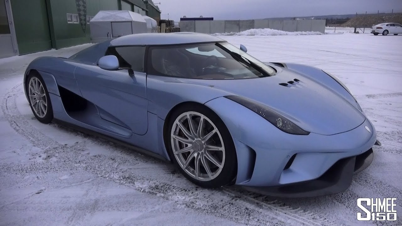 Epic Blue Car Wallpapers First Look Koenigsegg Regera With Christian Von