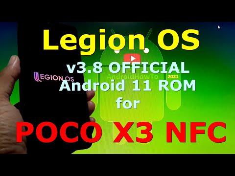 LegionOS v3.8 for Poco X3 NFC (Surya) Android 11