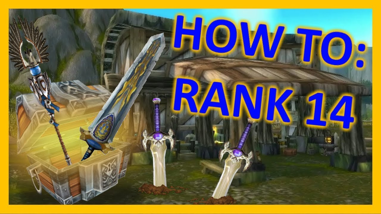 How to get Rank 14 in Classic WoW