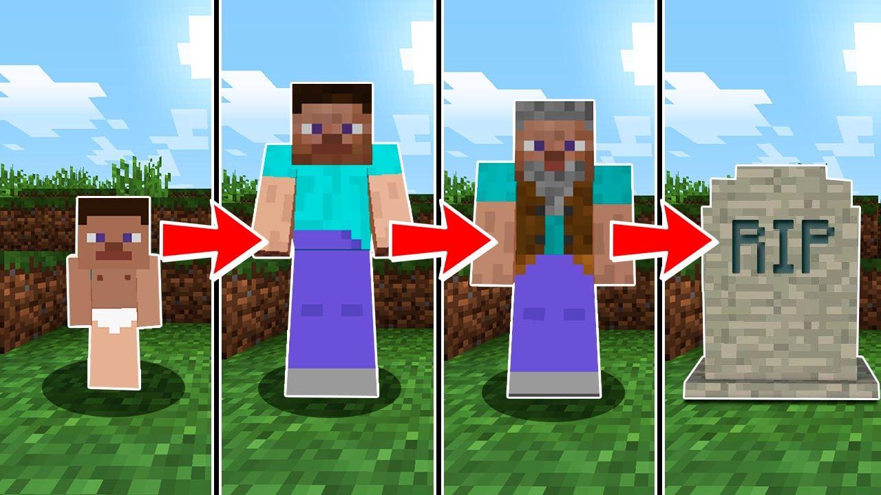 Minecraft en la vida real nacer crecer y morir en for Videos de minecraft en la vida real