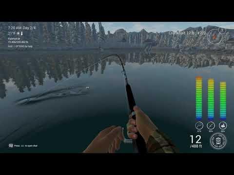 Fishing planet - Alberta, white moose lake - trophy Atlantic salmon and lake trout