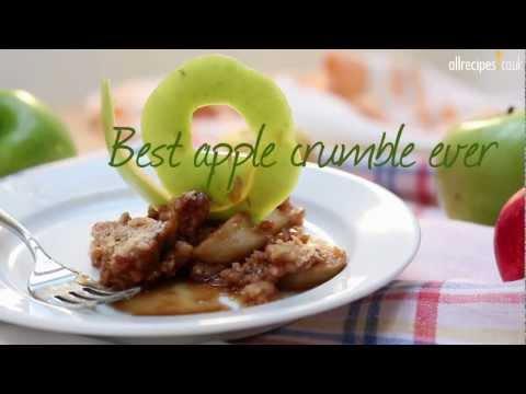 Best apple crumble ever recipe - Allrecipes.co.uk