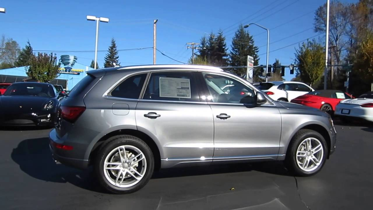 2014 Audi Q5 Monsoon Gray Stock 109586 Youtube