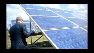 Принцип работы Солнечной электростанции(Заместитель генерального директора украинского представительства компании «Activ Solar» - Сергей Егоров расск..., 2013-06-19T13:28:25.000Z)