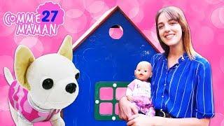 Vidéo en français pour enfants. Comme maman № 27. Une grande maison