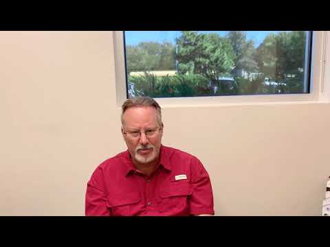 Dallas Hair Transplant Testimonial Immediately After the Surgery