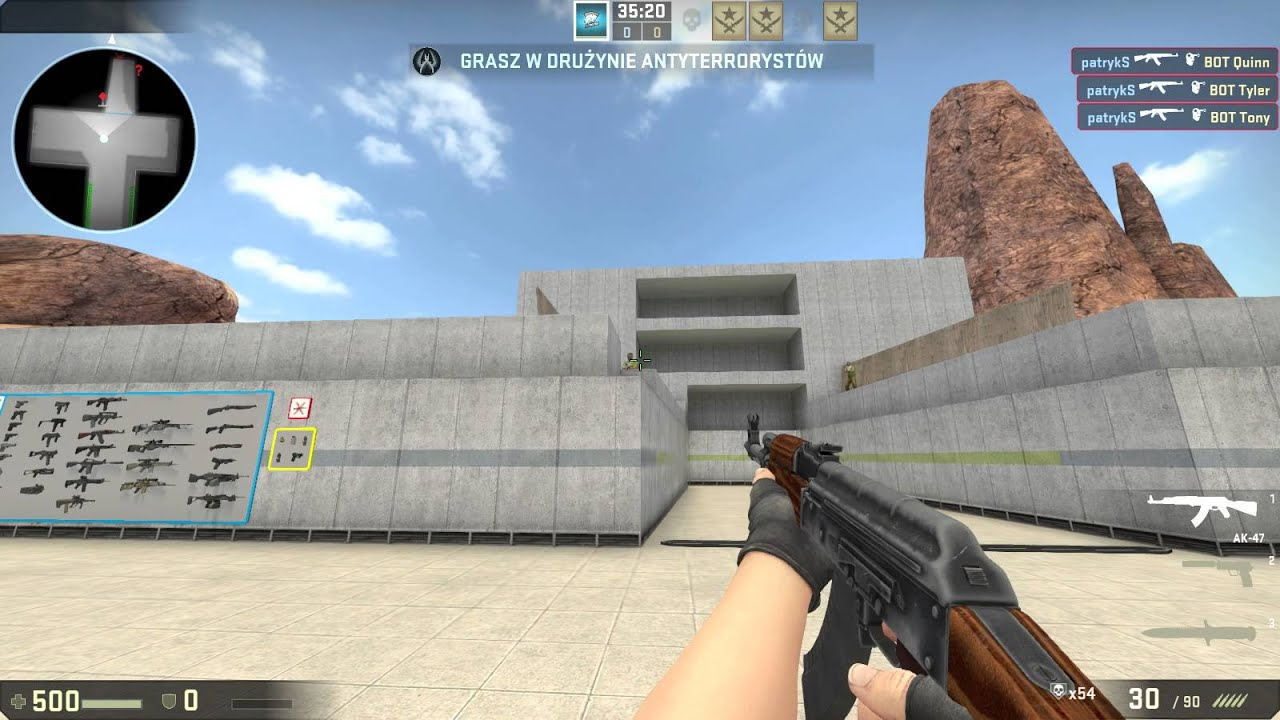 how to change viewmodel to left csgo