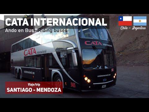 Ando En Bus | Viaje Cata Internacional, Santiago - Mendoza + Metalsur Starbus 2 M. Benz