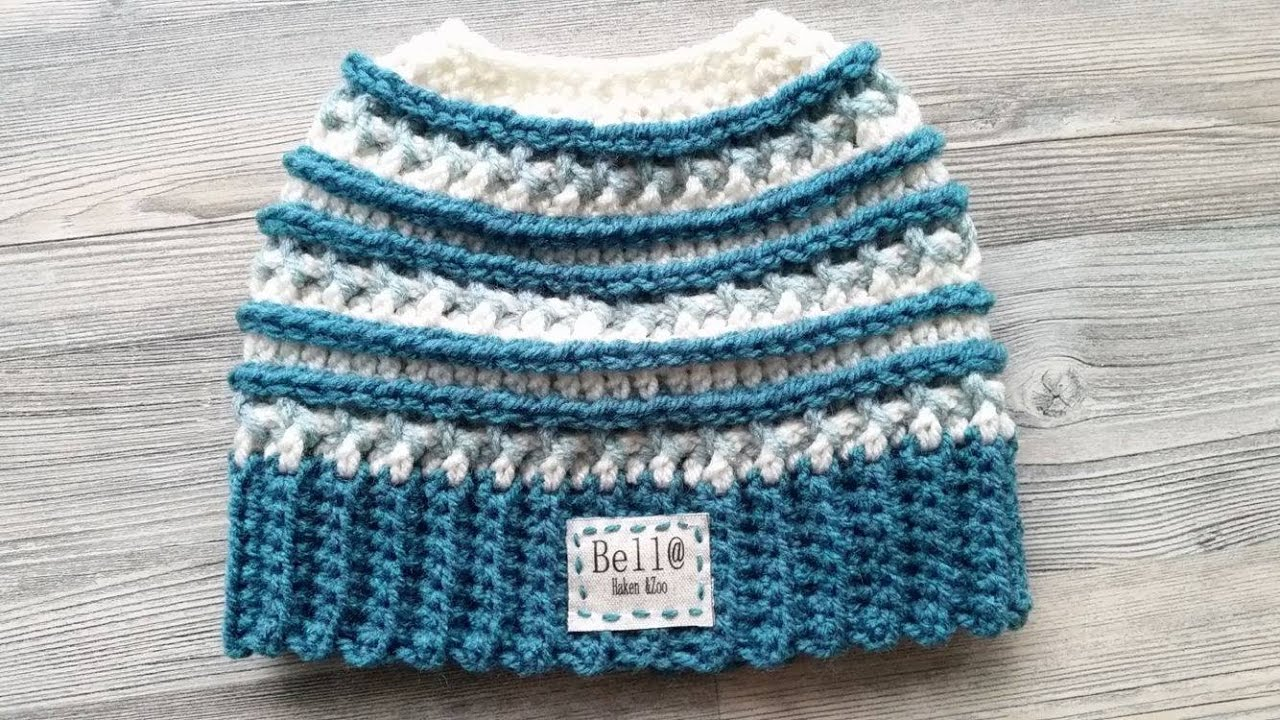 Crochet Katniss Messy Bun Hat 3 Colors - YouTube 33e80f49392