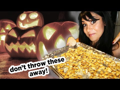 HOW TO ROAST YOUR PUMPKIN SEEDS (3 ways!)  | Tasty Tuesday