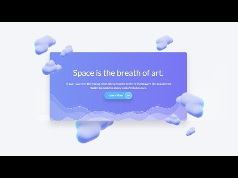 How to Code a Modern Landing Page Design | Speed Coding