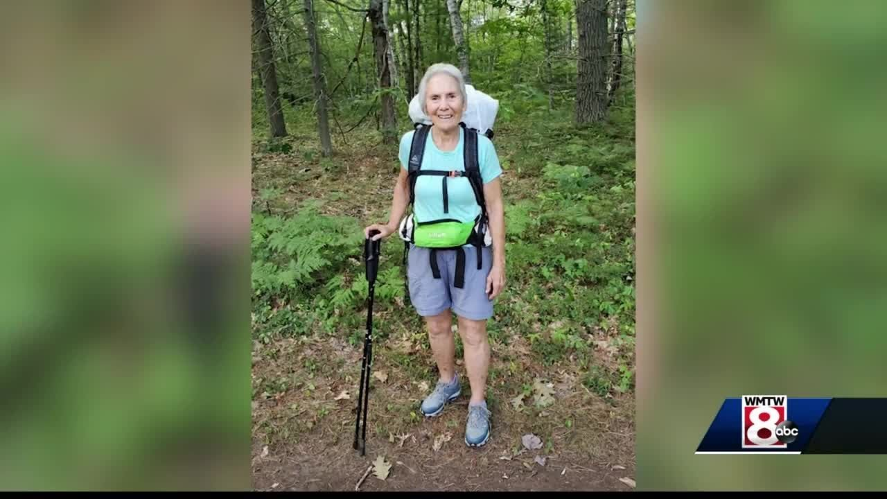 Maine woman, 78, hiking 400 miles to raise money for Maine food bank