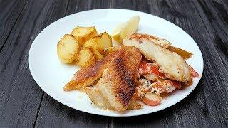 Морской окунь с фруктами - Рецепты от Со Вкусом