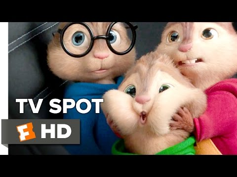 Alvin and the Chipmunks: The Road Chip TV SPOT - The Big Guy (2015) - Animated Movie HD