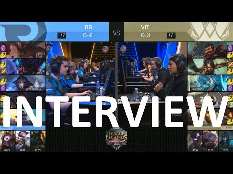 OG vs VIT Post Game Interview