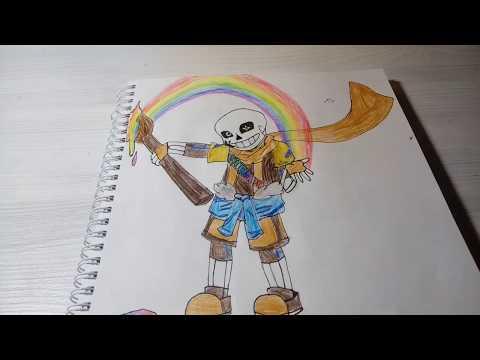 Мои рисунки UNDERTALE! (#17):з