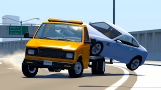 Realistic high speed crashes #15 - beamng drive