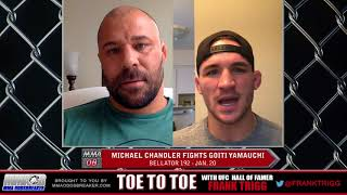 Frank Trigg pre-fight interview with Bellator 192's Michael Chandler