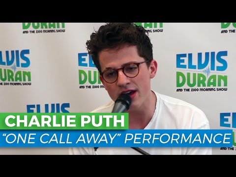 """Charlie Puth - """"One Call Away"""" Acoustic 