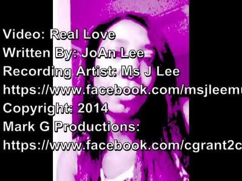MS J LEE REAL LOVE VIDEO 2014