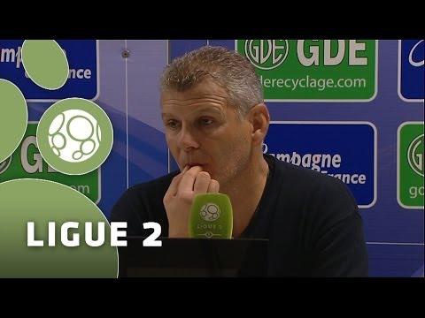 Conférence de presse SM Caen - Châteauroux (1-1) - 2013/2014