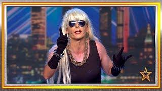 No es LADY GAGA, no es BELÉN ESTEBAN… ¡Vuelve Lady Malaka! | Audiciones 8 | Got Talent España 2019