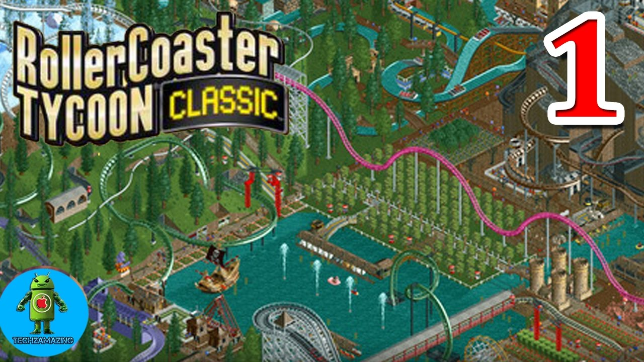 RollerCoaster Tycoon Classic Mobile Gameplay Walkthrough (Android/iOS) - #1
