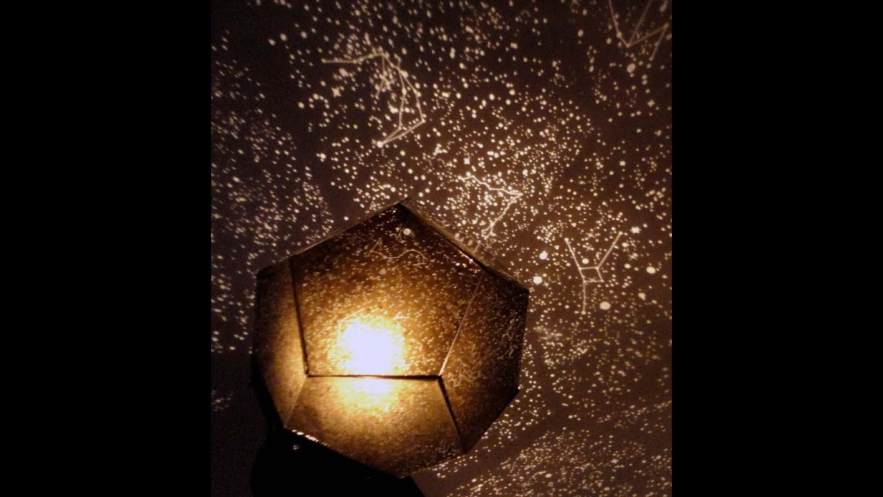 Star Projector Light BY G H - YouTube