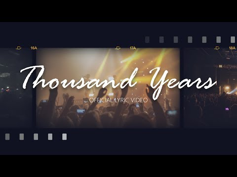 Bars And Melody -Thousand Years (Official Lyric Video)