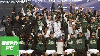 Portland Timbers top Sporting KC, return to MLS Cup | MLS Highlights
