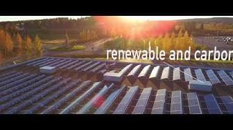 Tokmanni Jämsä 92 kWp aurinkosähköjärjestelmä - Solarigo
