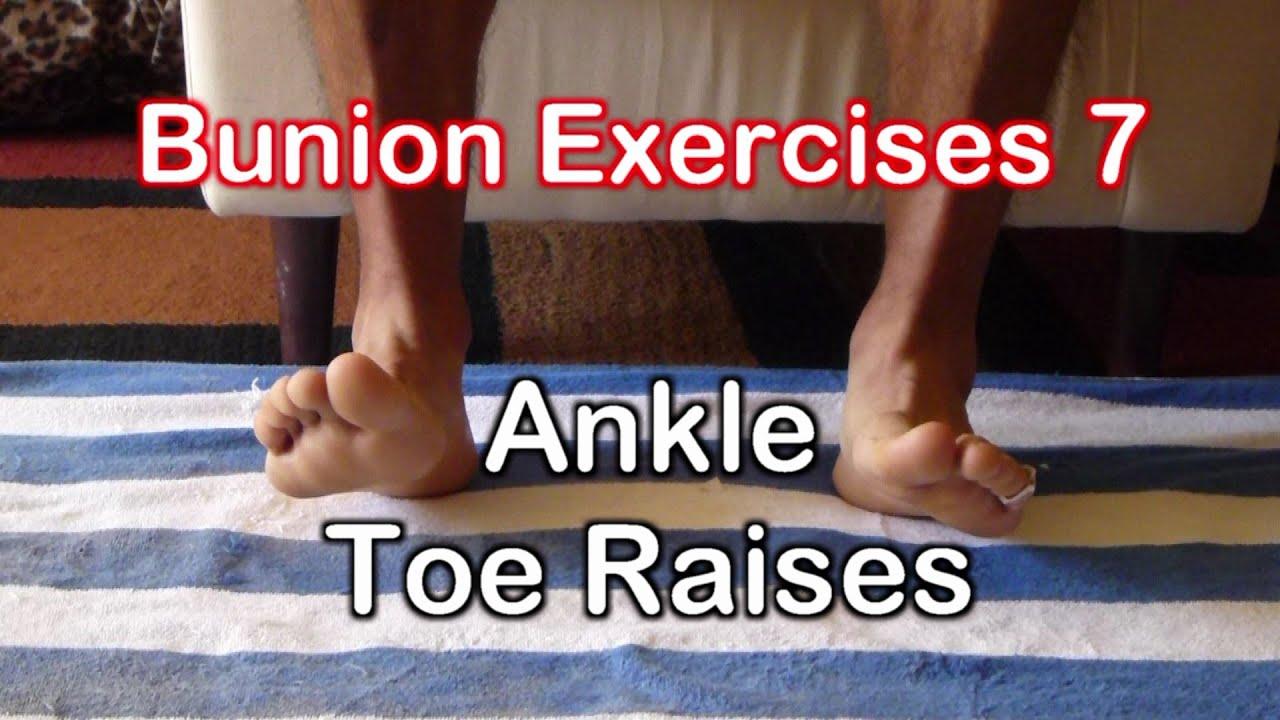 Bunion Exercises 7: Toe Raises Dorsiflexion Exercise - YouTube