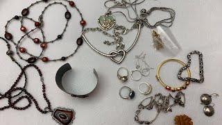Jewelry & Vintage Thrift Haul Estate Sale Haul